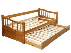 Sof cama nido 1 plaza con respaldo m13 miel neumobel for Sofa cama 1 plaza y media precios