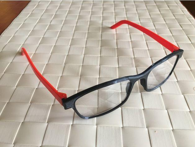 Glasses By Ericsko Thingiverse Thingiverse 3d Printing