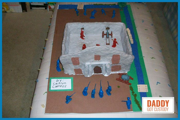 How To Build The 4th Grade Alamo Project Alamo Projects For Kids Projects