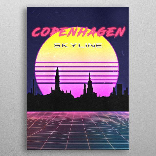 copenhagen by FARKI15 DESIGN   metal posters - Displate   Displate thumbnail