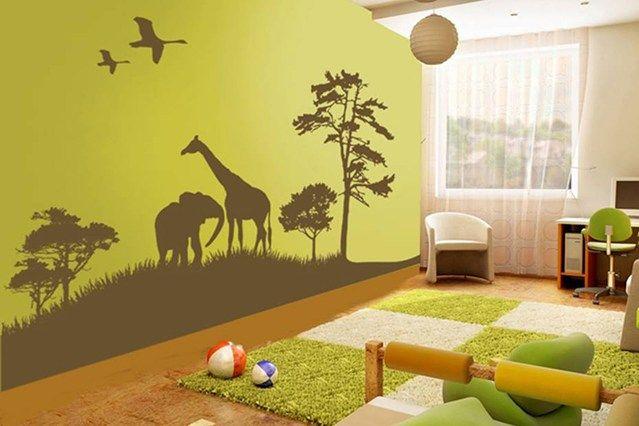 Children\'s bedrooms and playrooms | Kids room murals, Kids ...