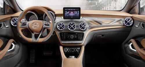 Interieur mercedes  Ausblick auf den kompakten SUV der Premiumklasse: Interieur GLA ...