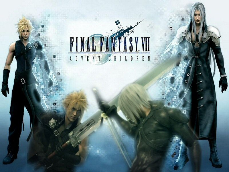 final fantasy advent children awesome anime movie food drink