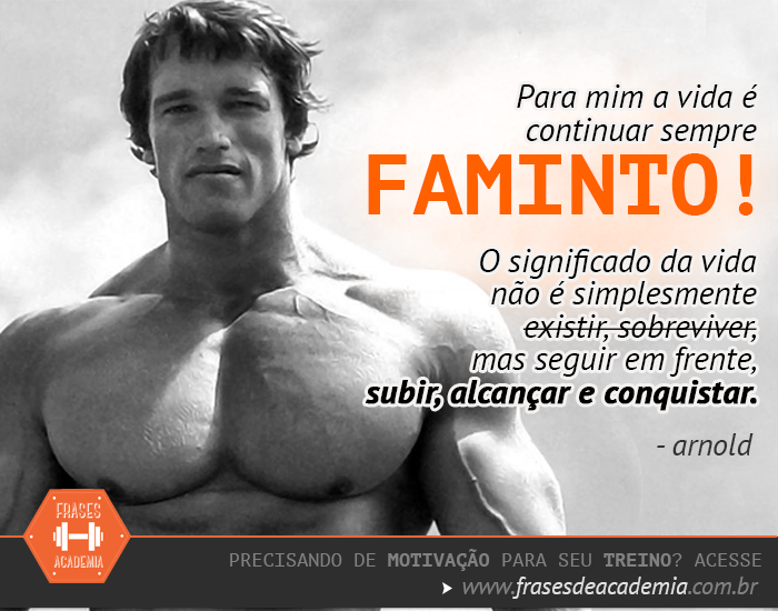 Arnold Frases De Academia Frases De Academia Motivação