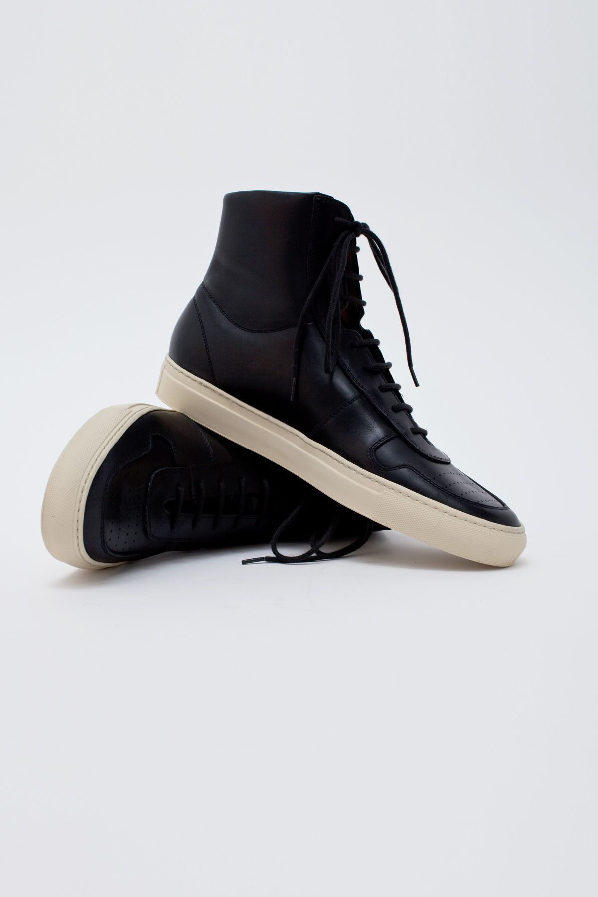 common projects bball high black