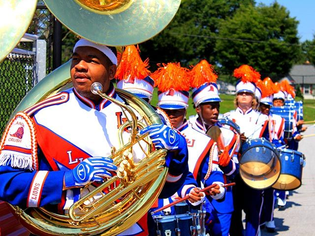 2013 Honda Battle Of The Bands Lincoln University Pa The Orange Crush Roaring Lions Marching Band Lincoln University Marching Band Band