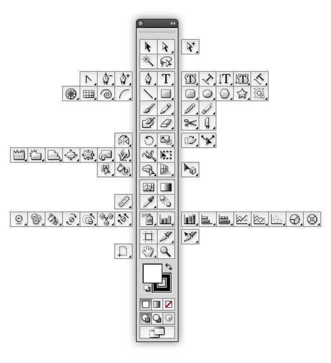 illustrator-cs5-toolbar.jpg (660×722) | Illustrator | Pinterest ...