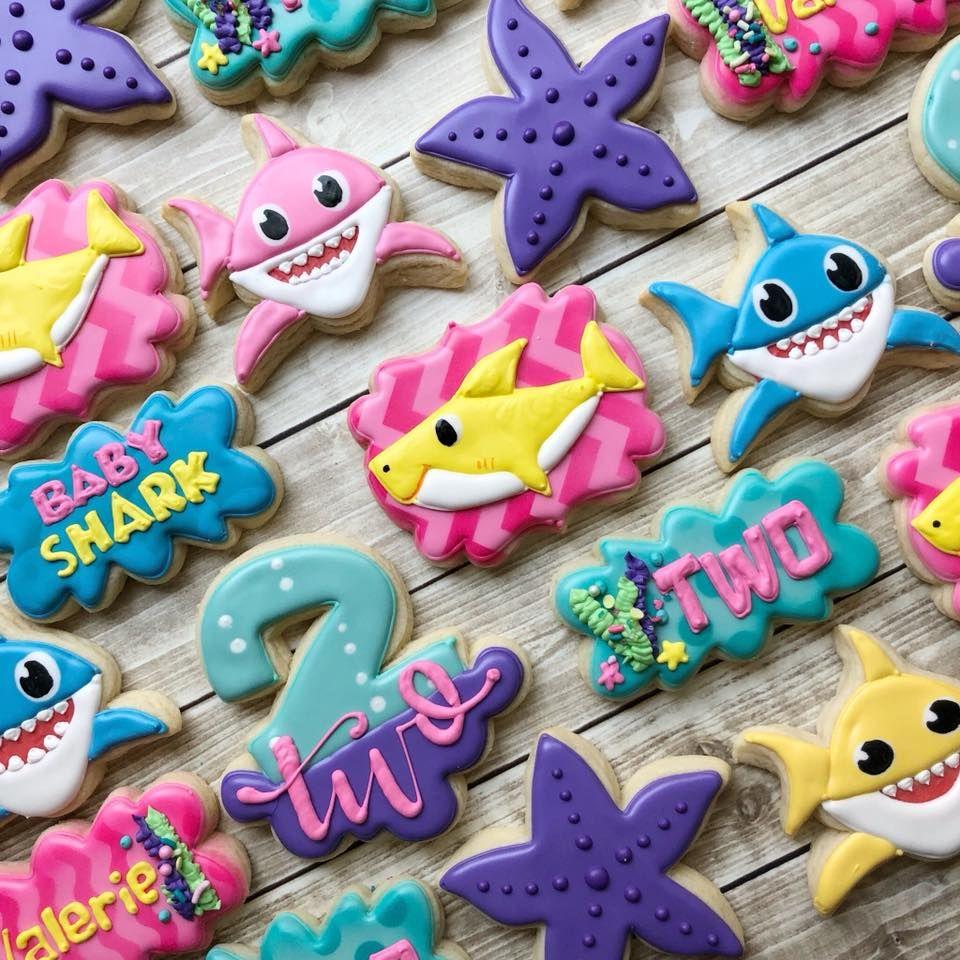 Baby shark doo doo (With images) Shark theme birthday