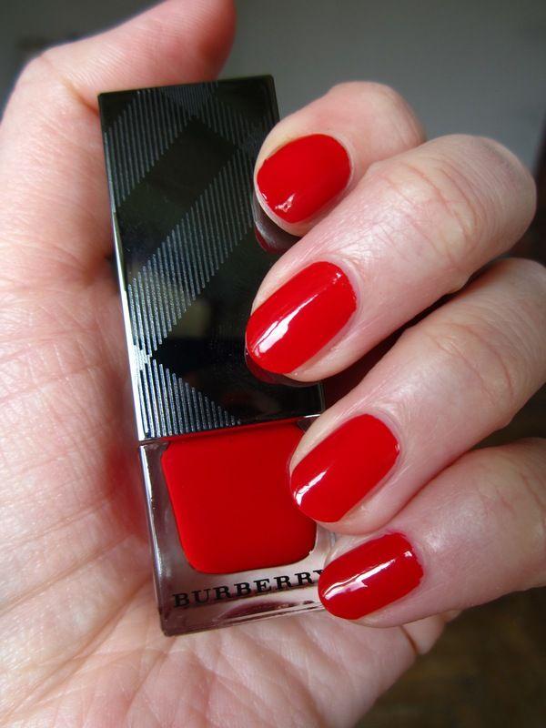 Burberry Nail Polish Poppy Red 301