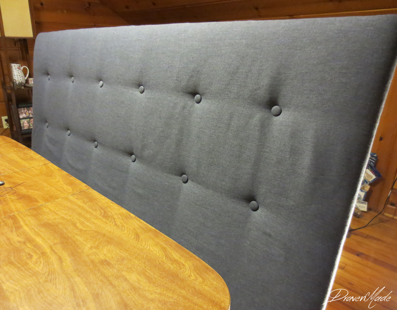 Draven Made: DIY West Elm Tall Tufted Headboard for Under $50 using ...