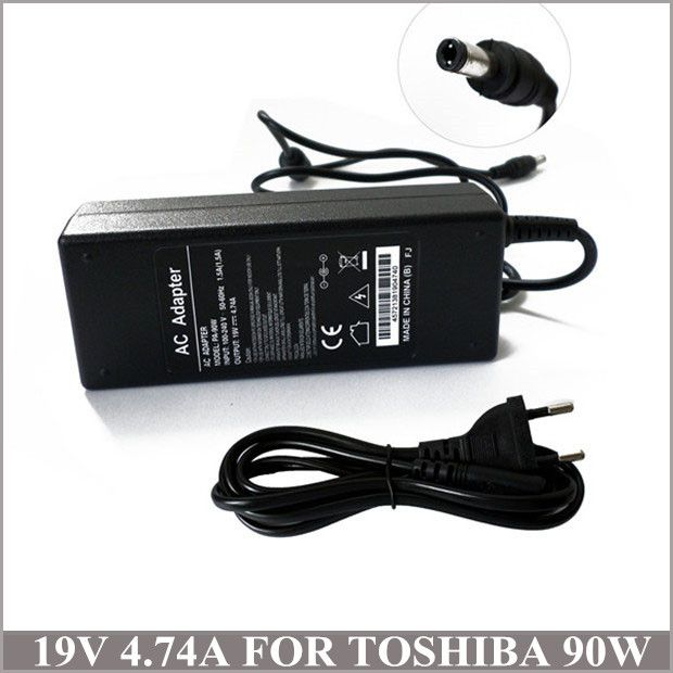 TOSHIBA Satellite L355D L355D-S7815 19V Laptop AC Adapter Notebook Charger