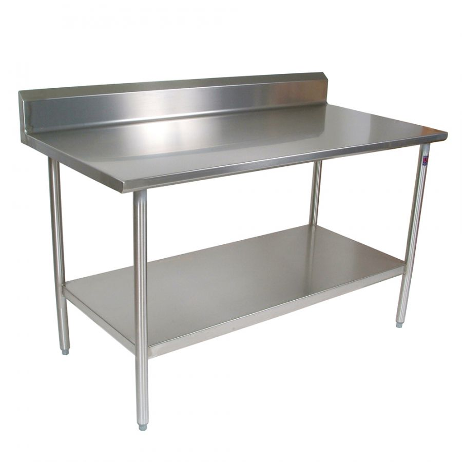 Unique stainless steel kitchen work tables