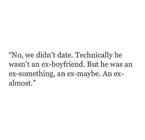 Techni Y He Wasnt An Ex Boyfriend