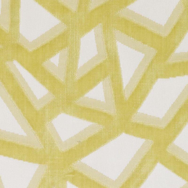 Yellow Gold Cut Velvet Upholstery Fabric Modern Velvet Pillow