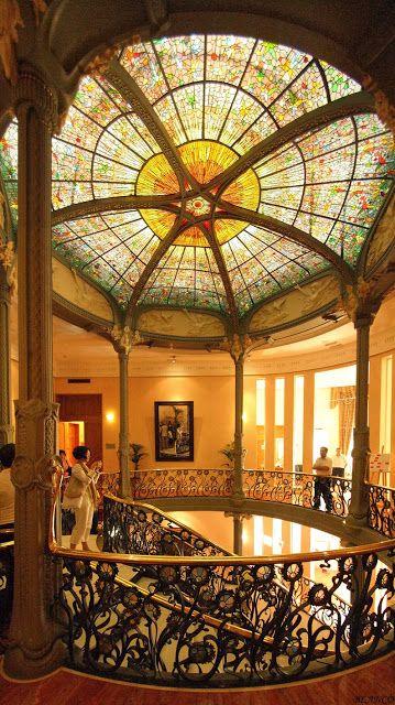 Interior del Palacio Longoria (Madrid) de José Grases. Madrid