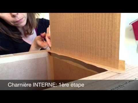 Video 7 Charniere Bricolages En Carton Charnieres Cadre En Carton