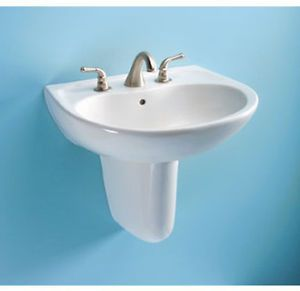 Toto HT242 Wall Mount Lavatory Shroud Only Cotton White #Remodeling #Sinks #Plumbing #HomeRemodel #DIY