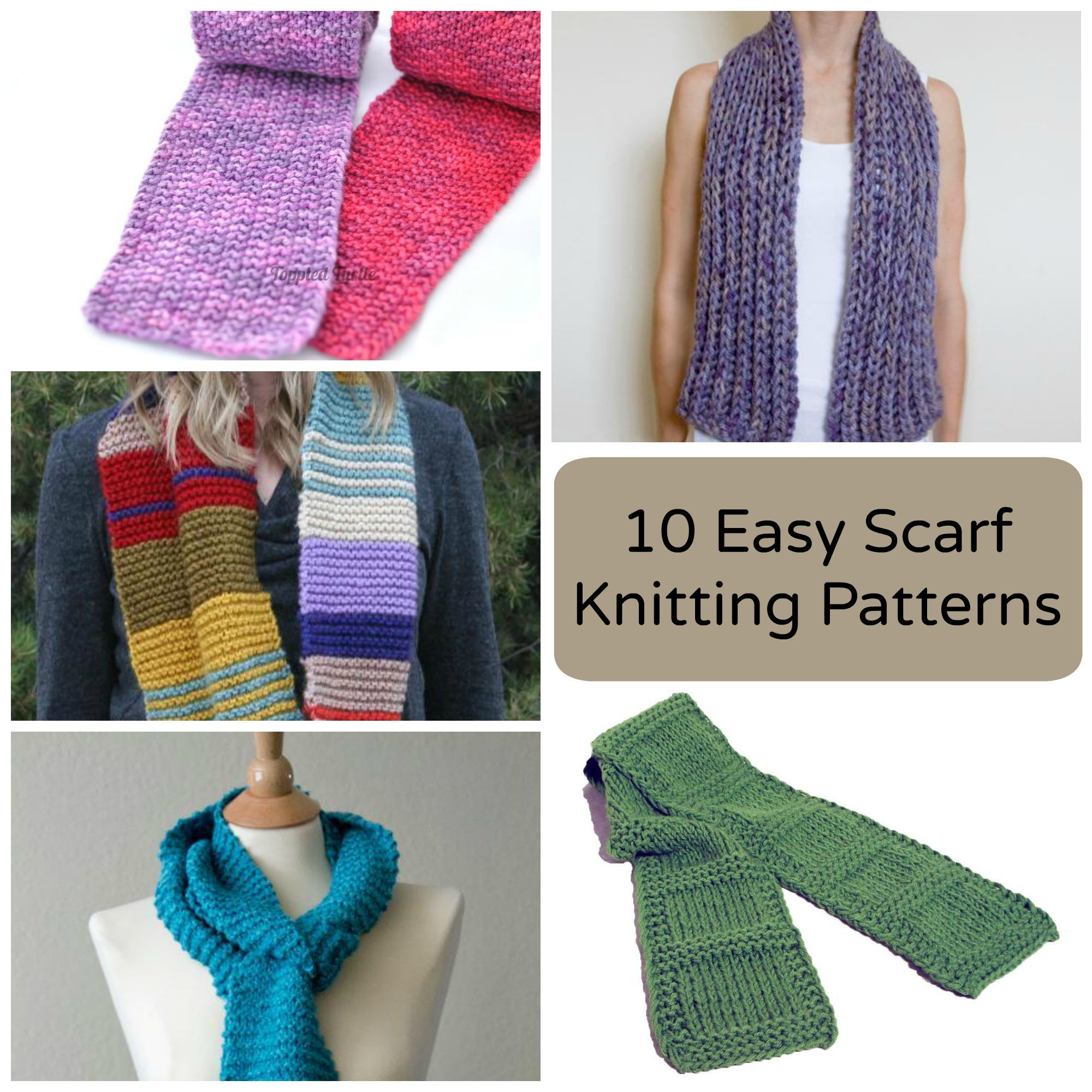 10 Easy Scarves + Cowls to Keep Your Neck Cozy | Easy ...