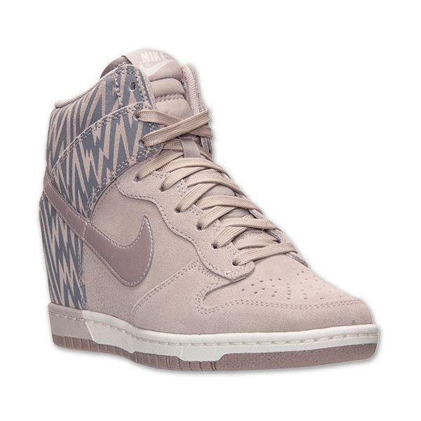 Women's Nike Dunk Sky High Print Casual Shoes