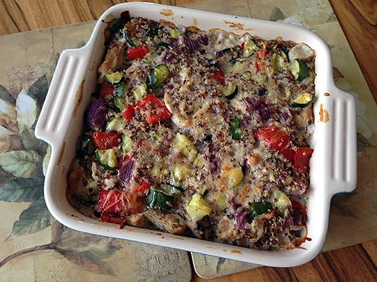 Recipe: Turkey and Quinoa Bake #cynthiacooks #delectablychiccooks #weeknightrecipes #dinner