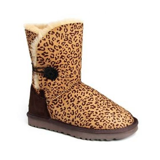 ugg bailey button 5803 leopard