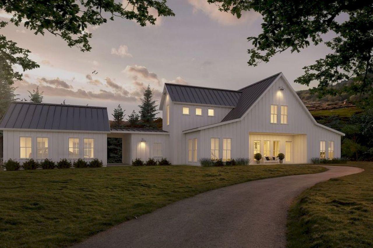 18 Awesome Modern Farmhouse Exterior Design Ideas Homixover Com Farmhouse Style House Plans Modern Farmhouse Exterior Farmhouse Style House