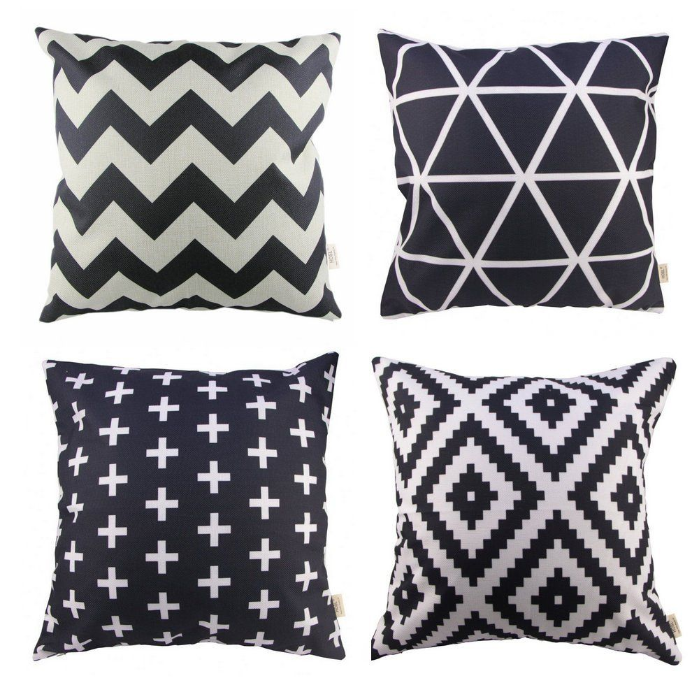 Hosl p pack sofa home decor design throw pillow case cushion