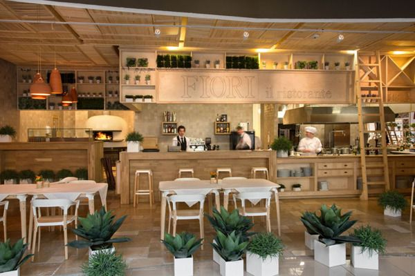 open kitchen fiori restaurant by yod design lab 3 - Restaurant Open Kitchen Design