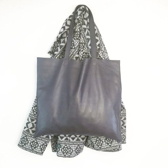 Grey Matter Tote by TreeFairfax on Etsy