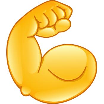 Pin On Muscle Emojis