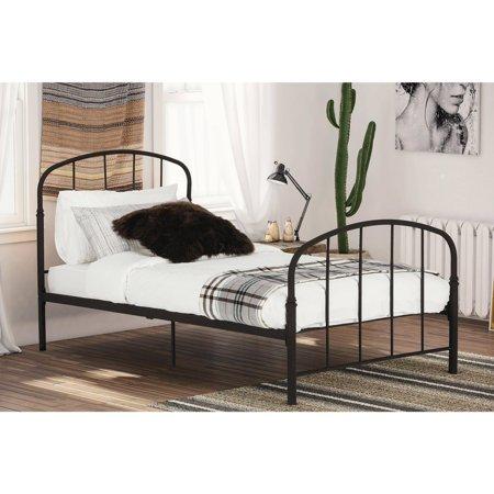 Dhp Lafayette Metal Bed Bronze Twin Walmart Com Metal Beds