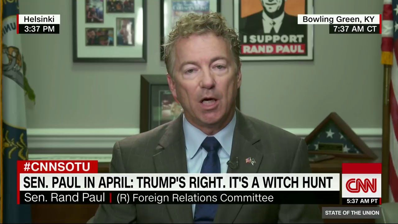 rand paul russia isn t going to admit to election interference