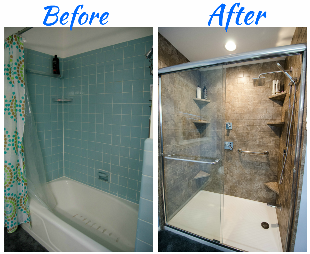 Complete Bathroom Remodel Frameless Glass Walk In Shower