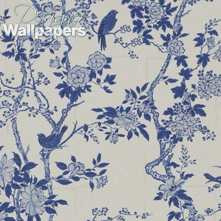 This Beautiful And Distinguished Wallpaper Pattern Is Based On An Antique Folding Screen And Uses Two Print Metho Pattern Wallpaper Wallpaper West Indies Decor