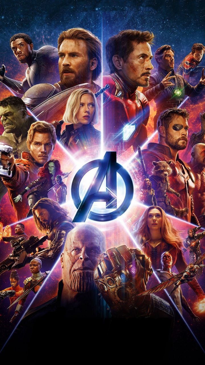 Avengers: Infinity war, superheroes, marvel, movie, poster, 2018, 720x1280 wallpaper