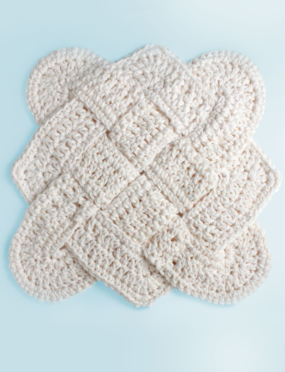 Yarnspirations.com - Lily Sailor\'s Knot Dishcloth - Patterns ...
