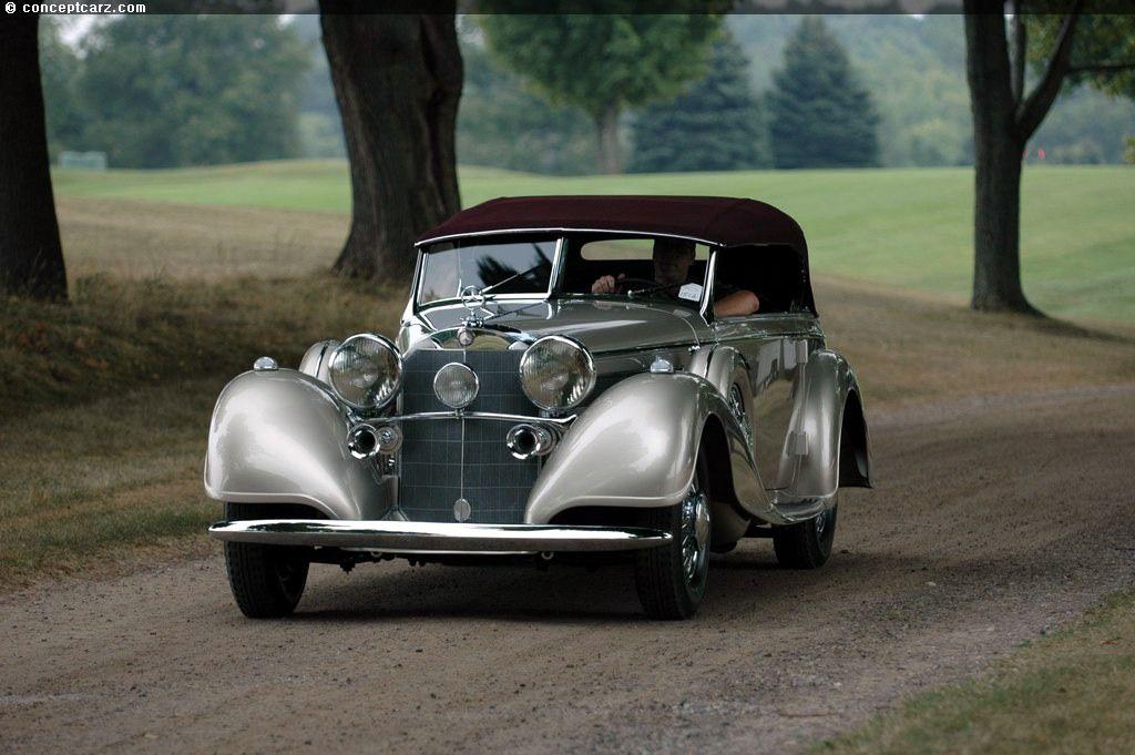 1938 Mercedes-Benz 540K | Classic and Vintage Cars | Pinterest ...