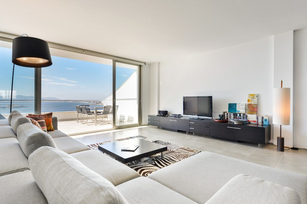 Kelosa Modern Duplex Apartament With Panorama Seaviews In Puig D Es Molins Ibiza City Eivissa Ibiza Apartment Modern