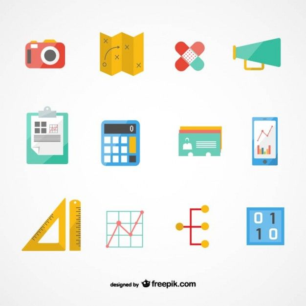 Vectores gratis    Freepik business plan icons set Vectores - business plan in pdf