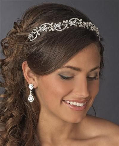 Wedding Hair Styles For Rustic Older Bride Medium Length