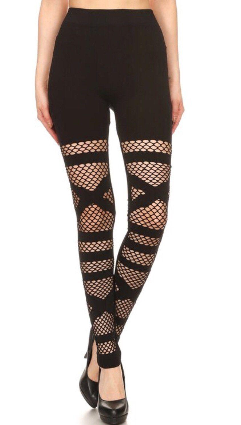 0307849a647 Dyme Net Legging Fishnet Leggings