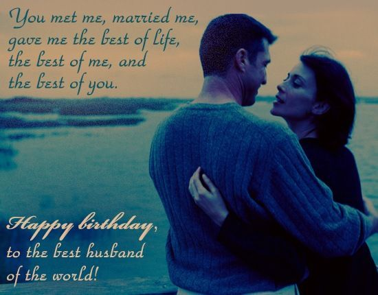 Happy Birthday Wishes Images For Husband
