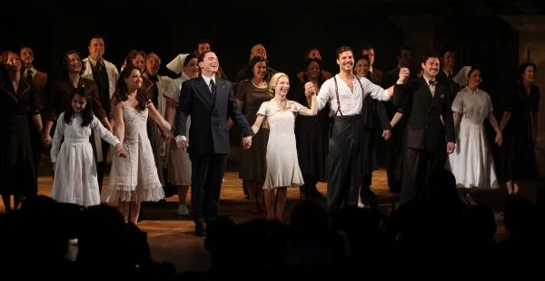 Photo Coverage Evita S First Preview Curtain Call Curtain Call