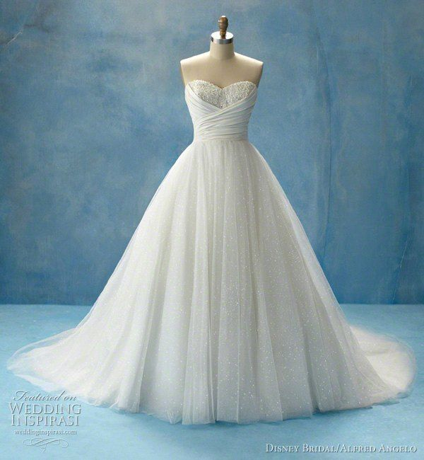 Another Disney Princess (Cinderella) inspired wedding gown... again ...