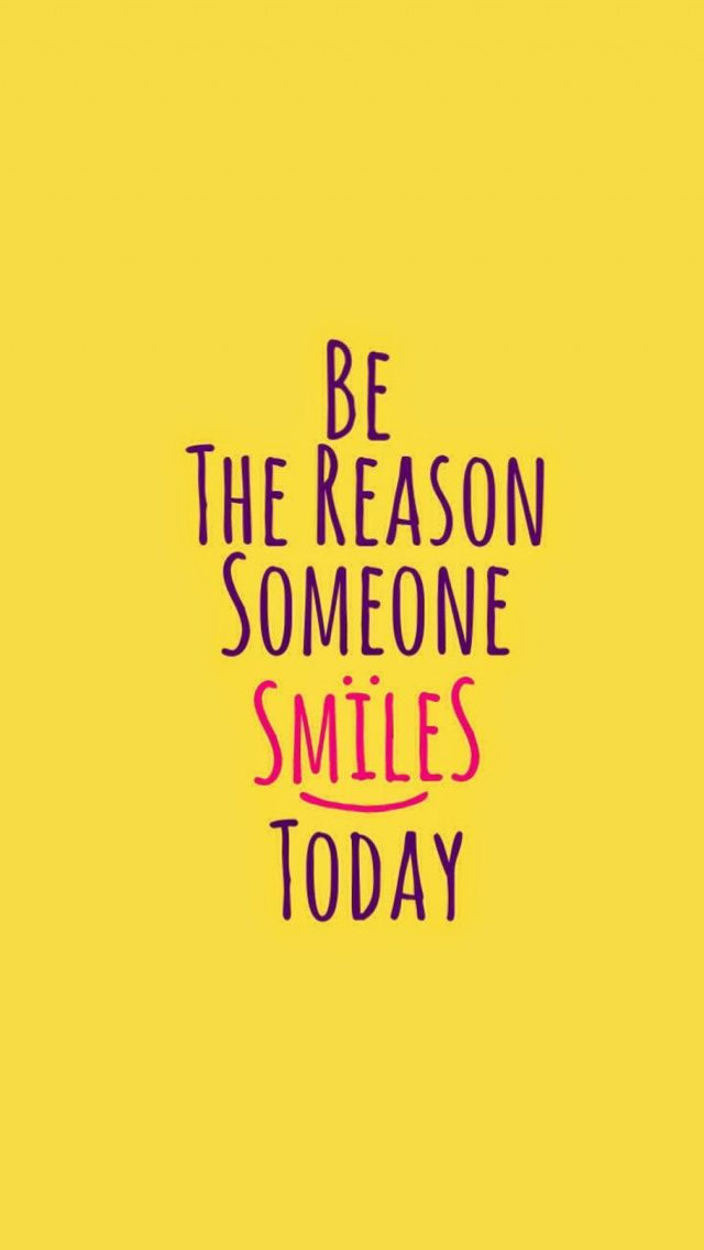 Tap image for more inspiring quotes wallpapers! Smile - @mobile9 | #typography #wallpapers #iphone