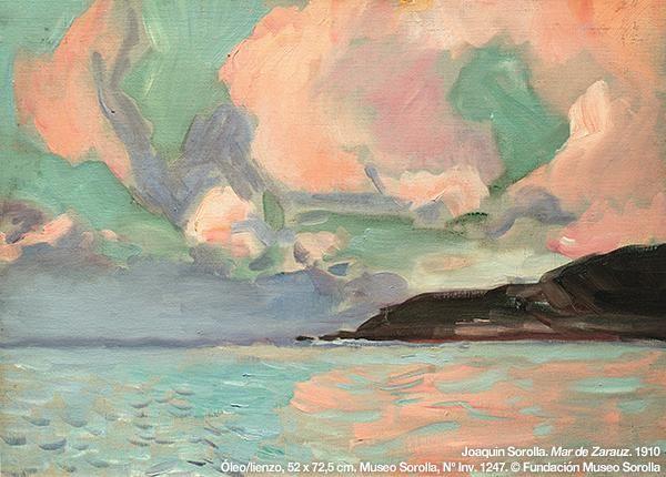 #Sorolla descubrió, en Paris, la pintura nórdica y su tratamiento de la luz, en el que basó su versión del luminismo.
