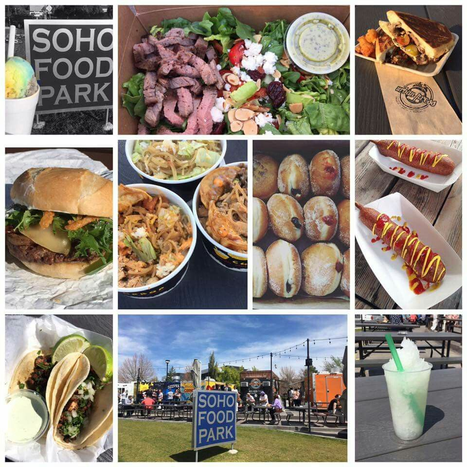 Soho Food Park 4747 South Holiday Blvd Utah Pinterest Food
