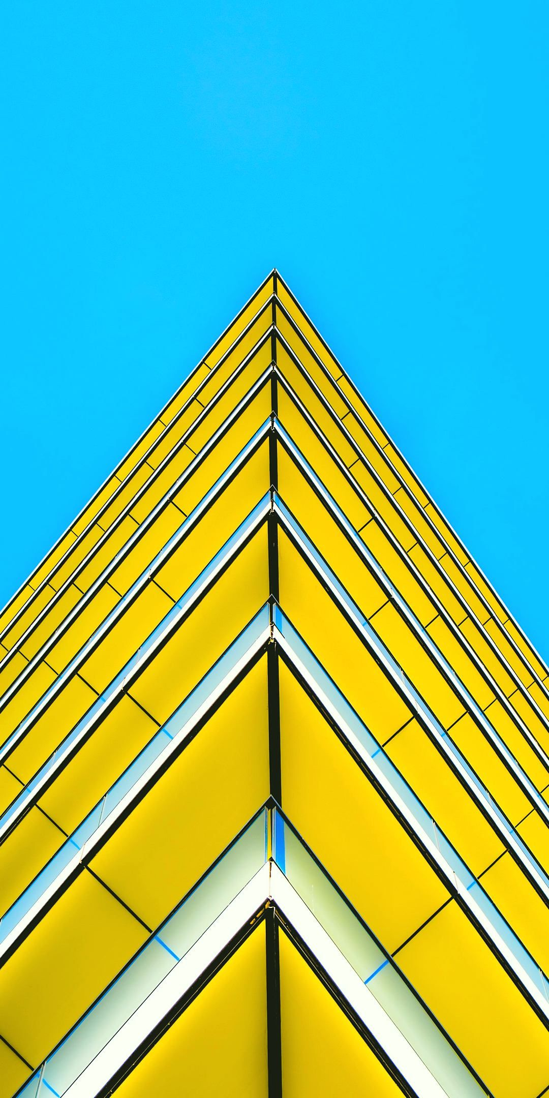 Yellow Architecture Background HD iPhone Wallpapers Download Free