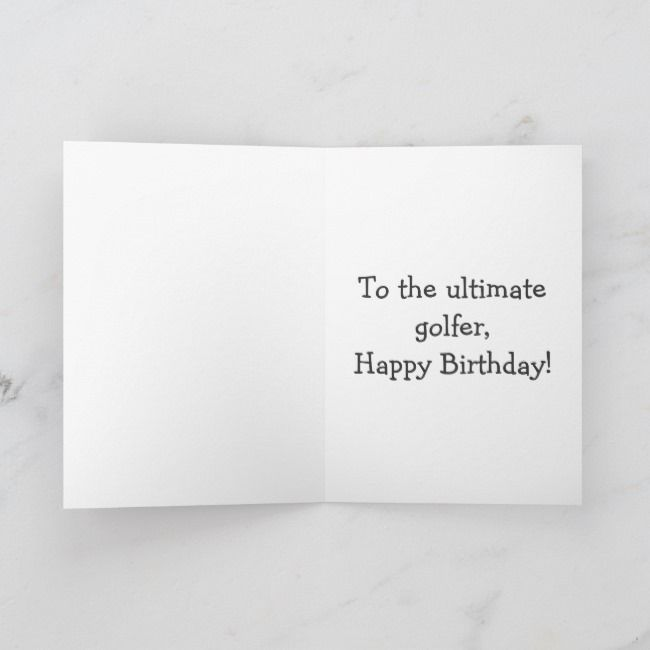 Golf Humor Birthday Greeting Card | Zazzle.com #golfhumor