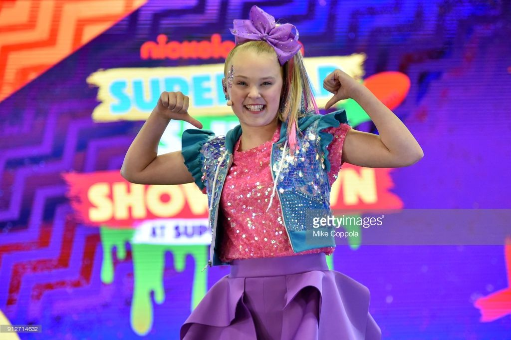 c9148a0e4 JoJo Siwa performs onstage at Nickelodeon at the Super Bowl Expereince  during NFL Play 60 Kids Day on January 31